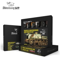 Vehicle Weathering and Effects Oil Set
