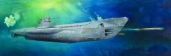 Deutsche Kriegsmarine U-Boot Typ VII C - U-552 - 1:48