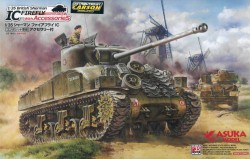 British Sherman IC Firefly - Composite Hull - with Accessories - 1/35