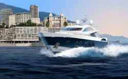 Sunseeker Predator 108 - Luxury Yacht 108ft - 1:72