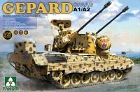 Gepard - A1/A2 - 2in1 - Bundeswehr Flugabwehrkanonenpanzer - 1:35