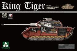 Panzerkampfwagen Tiger Ausf. B - Königstiger - Porsche-Turm - mit Zimmerit und Inneneinrichtung