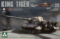 Panzerkampfwagen Tiger Ausf. B - Königstiger - Henschel-Turm - sPzAbt. 505 - mit Zimmerit und Inneneinrichtung