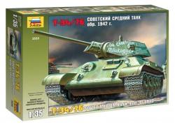 Sowjetischer Kampfpanzer T-34/76 - Modell 1942 - 1:35