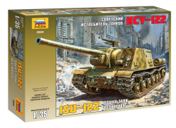 Soviet Tank Destroyer ISU-122 - 1/35