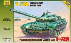 Russischer Hauptkampfpanzer T-72A - 1:35