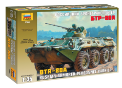 BTR-80A - Russian Personnel Carrier - 1/35