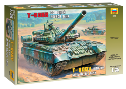Russian Main Battle Tank T-80BV - 1/35