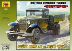 GAZ-AA - Sowjetischer 1,5t LKW - 1:35