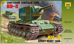 Sowjetischer schwerer Panzer KV-2 - 1:35