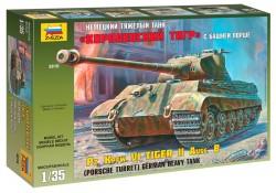Panzerkampfwagen Tiger Ausf. B - Königstiger - Porsche-Turm - 1:35