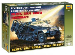 Sd.Kfz. 251/1 Ausf. B - Stuka zu Fuß - 1:35