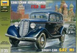GAZ M-1 - Sowjetischer PKW - 1:35