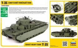 Sowjetischer schwerer Panzer T-35 - 1:35