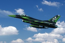 General Dynamics F-16 Fighting Falcon ADF/AM - Special colors - 1:72