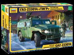 Russisches gepanzertes Fahrzeug GAZ-233014 - Tiger - 1:35