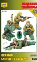 German Sniper Team - World War II - 1/35