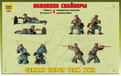 Deutsche Wehrmacht Scharfschützen - Figurenset - 1:35