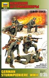 Deutsche Wehrmacht - Sturmpioniere - 1940 - 1943 - Figurenset - 1:35