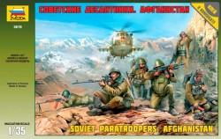 Sowjetische Fallschirmjäger - Afghanistan - Figurenset - 1:35