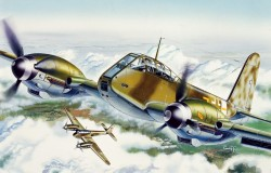 Messerschmitt Me 410 Hornisse - 1:72