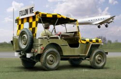Willys Jeep - Follow Me - Model Set - 1:35