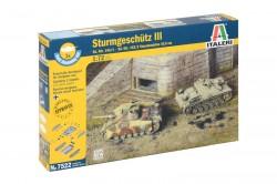Sturmgeschütz III - Set - 2 Modelle - StuG III und 10,5cm StuH - 1:72