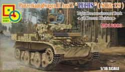 Panzerkampfwagen II Ausf. L - LUCHS - Sd.Kfz. 123 - Leichter Aufklärungspanzer - 4. Panzer Division