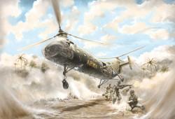 Piasecki H-21C Shawnee - Flying Banana - 1/48
