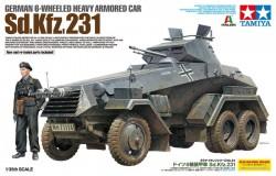 Sd.Kfz. 231 - 6 Rad Panzerspähwagen - 1:35