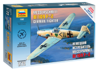 Messerschmitt Bf 109 F-2 - Deutsches Jagdflugzeug