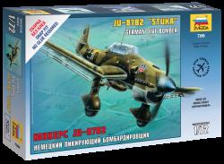 Junkers Ju 87 B-2 - Stuka - Deutscher Sturzkampfbomber - 1:72