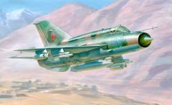 Mikojan-Gurewitsch MiG-21bis - Fishbed-L - Sowjetischer Abfangjäger - 1:72