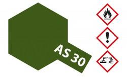 Tamiya AS30 Dark Green 2 - RAF - Dunkelgrün 2 - Matt