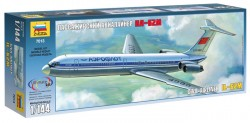 Iljuschin Il-62 - Ziviles Passagierflugzeug - 1:144