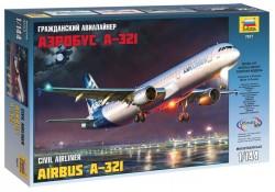 Airbus A-321 - Ziviles Passagierflugzeug - 1:144