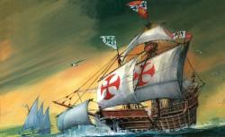 Santa Maria - Christopher Columbus Flagship - 1/350