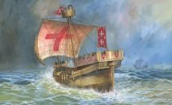Crusaders Ship - XII - XIV Century - 1/72