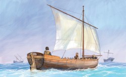 Medieval Life Boat - 1/72