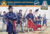 Unionstaaten Infanterie und Zuaven - Amerikanischer Bürgerkrieg