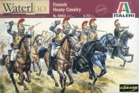 Französische schwere Kavallerie - Carabiners - Napoleonische Kriege - 1:72