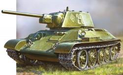 T-34/76 - Modell 1943 - Sowjetischer Kampfpanzer - 1:72