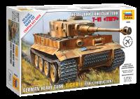 Tiger I - frühe Produktion - schwerer Panzerkampfwagen - 1:72