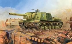 JSU-152 - sowjetischer schwerer Jagdpanzer