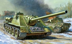 SU-100 - Sowjetischer Jagdpanzer - 1:72