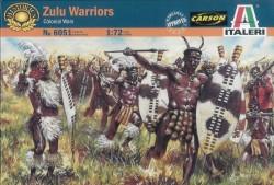 Zulu Warriors - Colonial Wars - 1/72
