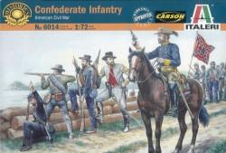 Konföderierte Infanterie - Amerikanischer Bürgerkrieg