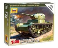 T-26 - Sowjetischer leichter Panzer - 1:100