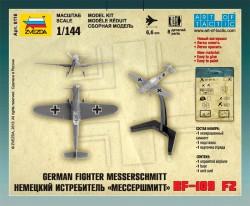 Messerschmitt Bf 109 F-2 - German Fighter - 1/144