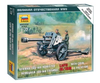 German 105mm Howitzer LeFH 18/18M with Crew - 1/72
